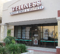 Natural Wellness Store Front